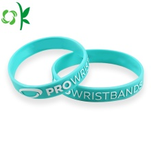 3D Light Bule Printing Wristband Reliëf elastische band