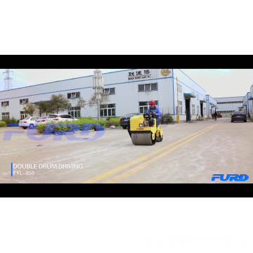 700kg Hydrostatic Two Wheel Road Roller (FYL-850)
