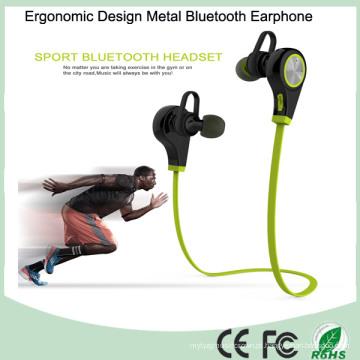 Acessórios para celular Metal Wireless Sport Bluetooth Stereo Headphone (BT-128Q)