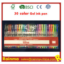 30 Farben Gelschreiber