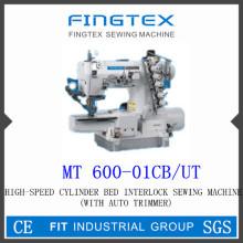 Высокая скорость Cylider кровать Интерлок швейная машина (600-01CB/UT)