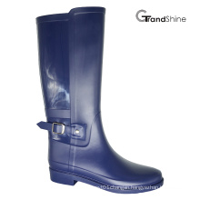 Women′s PVC Horse Riding High Boot