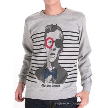 Прохладный Человек Черный Дизайн Печать Мода Хлопок Мужчины T-Рубашки