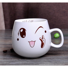 Taza de porcelana taza de café de cerámica (XLTCB-003 300)