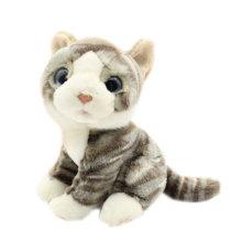 Lifelike Angefüllte Tiere Spielzeug Weiche Katze Plüschtier Zu Verkaufen