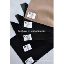 Em estoque 100% algodão tecido de veludo dos homens de ótima qualidade