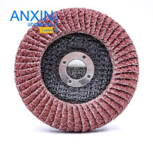 Ceramic Half-Curved Flap Disc for Angle Grinding