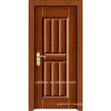 Conception de portes en bois en acier