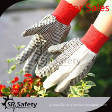 SRSAFETY gardening gloves with best quality and best price in china
