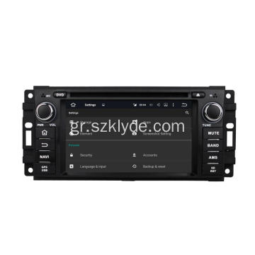 6,2 ίντσες Octa Oore Jeep DVD Player
