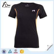 Femmes Nylon Spandex T-Shirt Fitness Porter