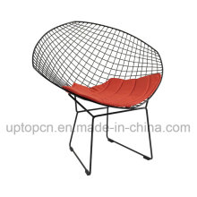 Bertoia Diamond Wire Chair with Comfortable Upholstery for Living Room (SP-MC022)