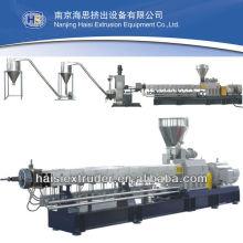 Capítulo PP/PE/POM/PVC/PET EET-95 Co-rotating peletizadora de plástico