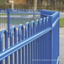 Spraying Powder Bow Top Fencing