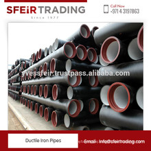 Most Selling Durable Ductile Iron Pipes from Biggest Manufacturer