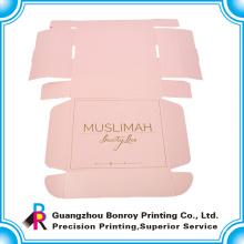 Cajas de empaquetado coloridas de la impresión del papel de Kraft para el vestido con la manija de la cinta