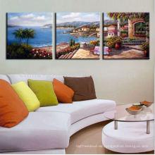 3 Tafeln modernen dekorativen Leinwanddruck zum Verkauf