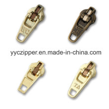 Yg Slider Brass Metal Zipper Slider