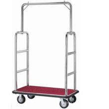 De Buena Calidad Carro de equipaje de acero inoxidable Df18