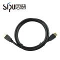 SIPU chine fabricant pas cher plaqué or 10 m ccs 1.4 v hdmi câble