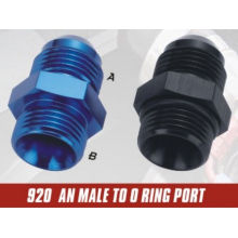 AN to NPT Straight Fittings