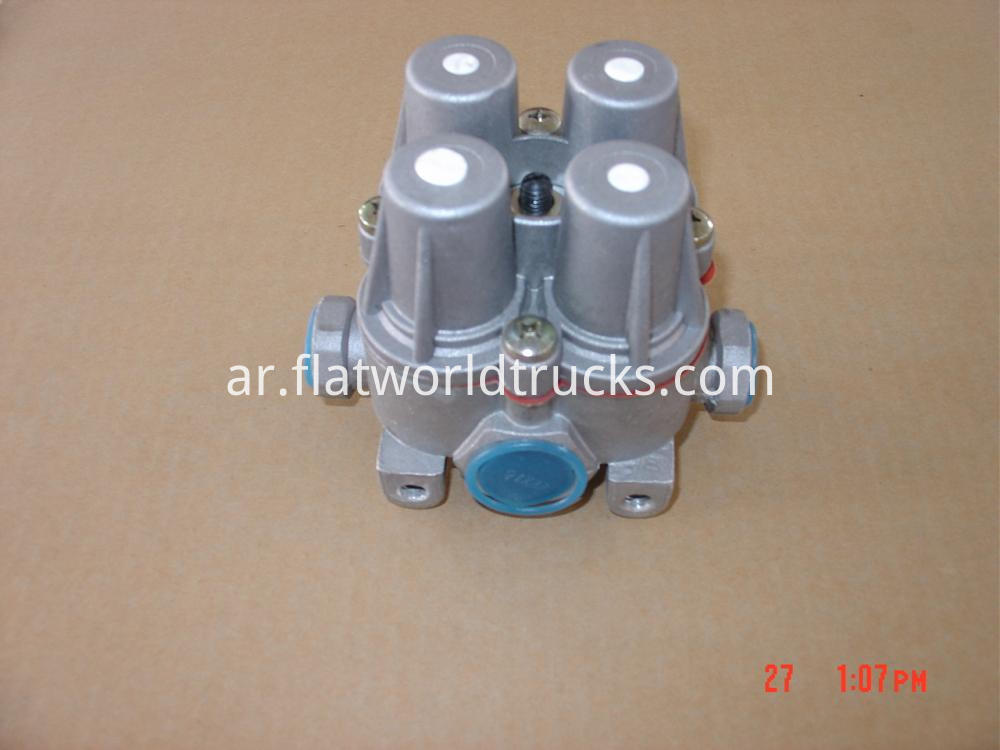 four-circuit protection valves