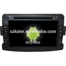 Glonass / GPS Android 4.4 Spiegel-Link TPMS DVR Auto zentrale Multimedia für Renault Duster / Logan / Sandero mit GPS / Bluetooth / TV / 3G