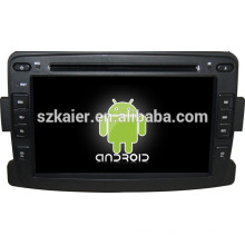 Glonass / GPS Android 4.4 Mirror-link TPMS DVR multimedia central del coche para Renault Duster / Logan / Sandero con GPS / Bluetooth / TV / 3G