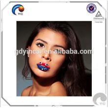 Autocollant de tatouage de nouveauté temporaire personnalisé de haute qualité (série de rouge à lèvres)