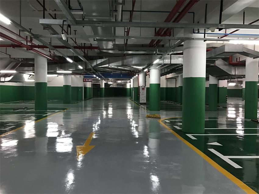 Parking Lot Epoxy Self Leveling Thin Coating Floor Paint