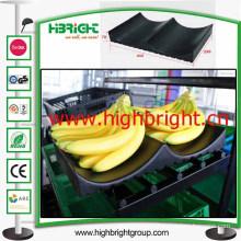 Plastic Banana Tray Rack Padding for Supermarket Fruit Rack
