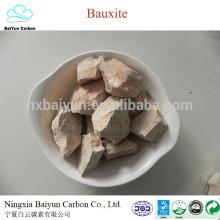 mineral de bauxita 60-88% de contenido de mina de bauxita calcinada en venta