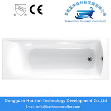 Drop in acrylic soaker tubs with shower