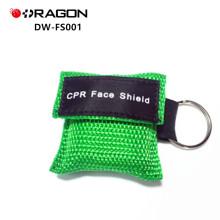 DW-FS001 Promotion Einweg CPR Maske mit Gesichtsschild Schlüsselanhänger
