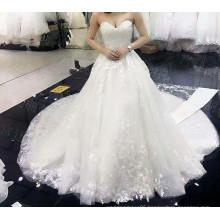 LS99054 Long removable train sexy informal wedding dresses bridal dupatta pakistani bridal dresses photo