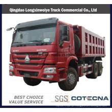Caminhão de Tipper do descarregador de Sinotruk HOWO 6X4 20-30ton 15cbm