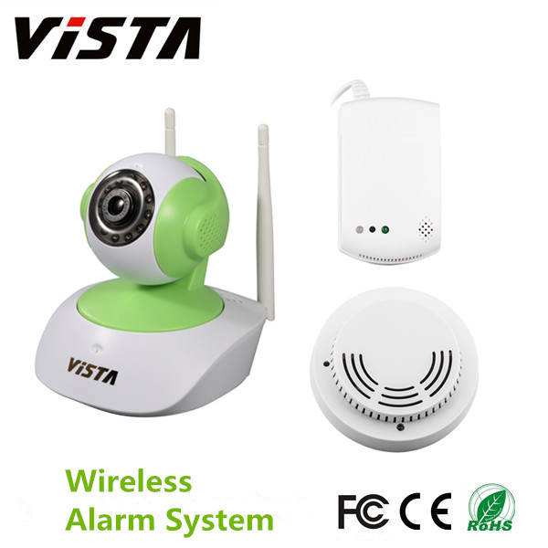 ip camera smoke gas alarm