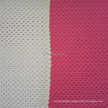Wholesale sports wear material nylon spandex dry fit bird eye mesh fabric