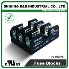 FB-M033PQ Montado en panel 30A 3 vías igual a Bussmann Clase M Base del fusible