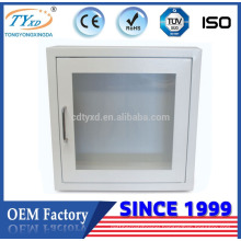 For AED TY-E02 Direct manufacturer wall mount cabinet with sound alarm