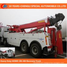 HOWO Heavy Duty 30t-40t Recovery Truck