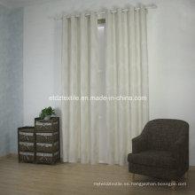 Nueva tela moderna de la cortina del telar jacquar del poliester