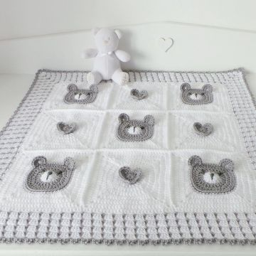 New Bear Baby Crochet Blanket Bear Patterns