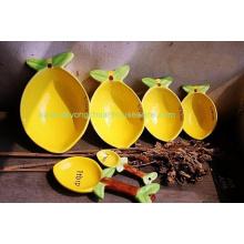 Ceramic Measuring Cups-Set of 4