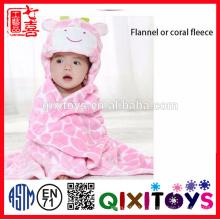Nursery bébé bain couverture animal en forme de pépinière poterie Manta bebe enfants bébé couverture