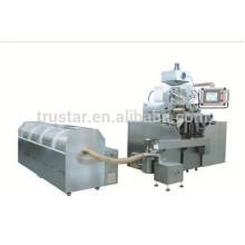 Paintball maker encapsulation machine
