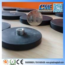 Gummi-Überzugstopf-Magnet