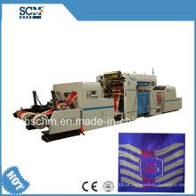 Máquina de estampagem de duas cores de filme / papel / OPP / PE / PP / PVC
