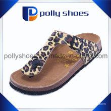 Sexy Leopard PU Flip Flop Slipper for Women