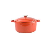 All kinds of enamel coating cast iron cookware sets/cast iron casserole/pot
